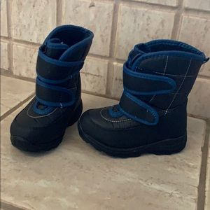 Toddler Navy Snow Boot